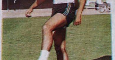 Fútbol 84. Serafín (U.D. Salamanca) Cromos Cano. 📸: MtLale Susowwsl ALale.