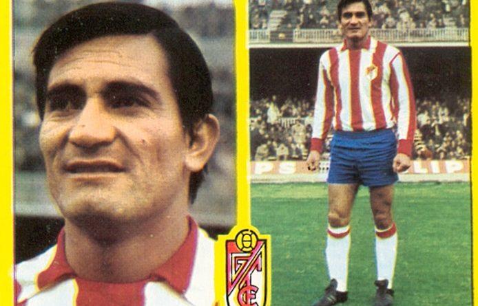 Liga 72-73. Aguirre Suárez (Granada C.F.). Ediciones Este. 📸: Toni Izaro.