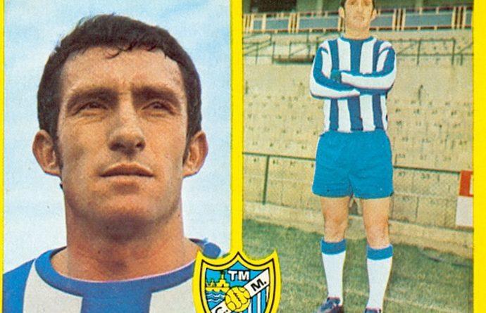 Liga 72-73. Benítez (C.D. Málaga). Ediciones Este. 📸: Toni Izaro.