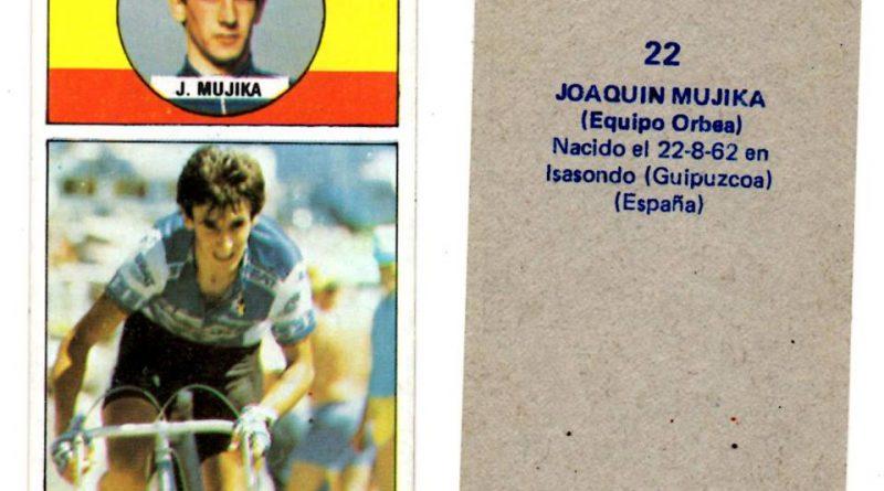 Vuelta ciclista, ases del pedal. Jokin Mujika (Orbea). Editorial J. Merchante. 📸: Antonio Sevillano Gil.
