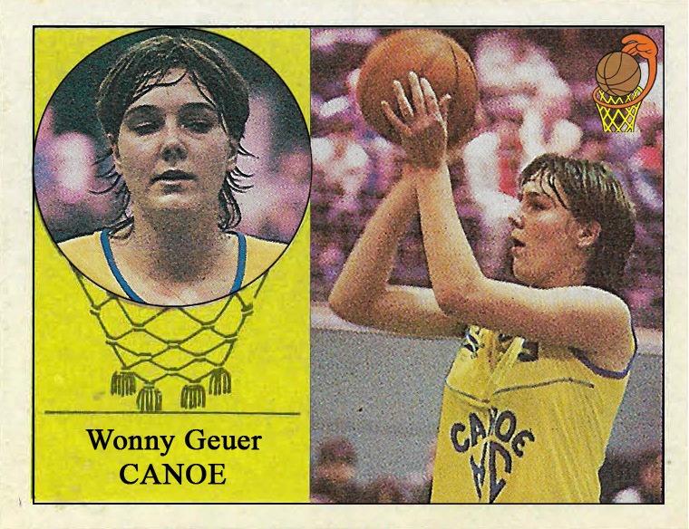 Wonny Geuer (Real Canoe) 📸: Cromo-Montaje del Grupo de Facebook Nuestros álbumes de cromos.