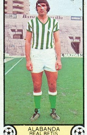 Liga 79-80. Alabanda (Real Betis). Ediciones Este. 📸: Toni Izaro.