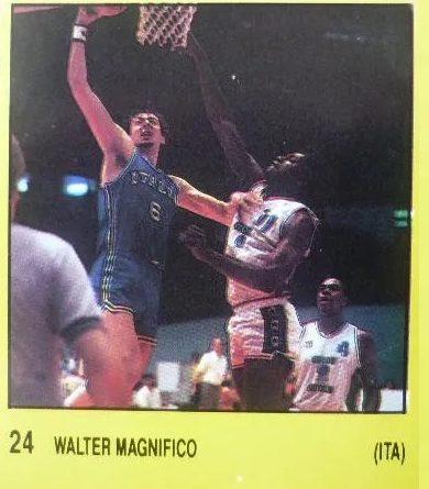 1988. Walter Magnifico (Italia). Supersport Panini. 📸: José Martín.