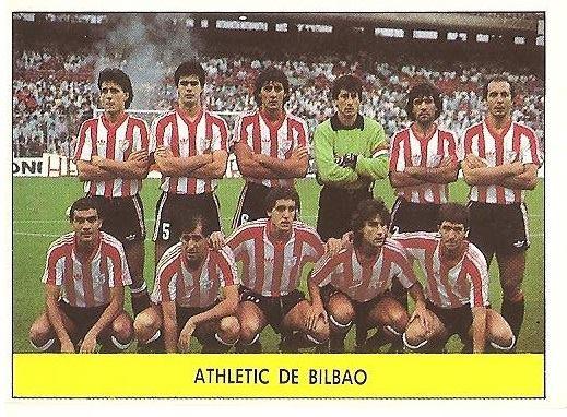 Liga 87-88. Alineación Athletic Club de Bilbao (Athletic Club de Bilbao). Ediciones Festival.