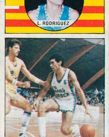 Campeonato de Liga 1986-87. López Rodríguez (Magia Huesca). Editorial Merchante. 📸: Fidel Trenado Pérez.