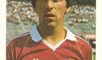 Eurocopa 1984. Carlos Manuel (Portugal) Editorial Fans Colección.