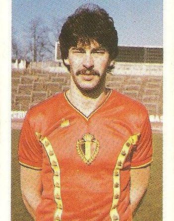 Eurocopa 1984. De Groote (Bélgica) Editorial Fans Colección.
