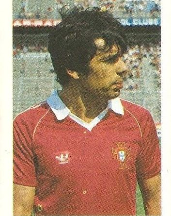 Eurocopa 1984. Fernandes (Portugal) Editorial Fans Colección.