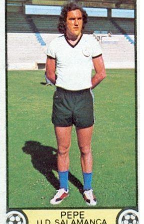 Liga 79-80. Pepe (U.D. Salamanca). Ediciones Este. 📸: Toni Izaro.