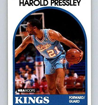 1989-90. Harold Pressley (Sacramento Kings). NBA Hoops. 📸: Arturo López Romero.