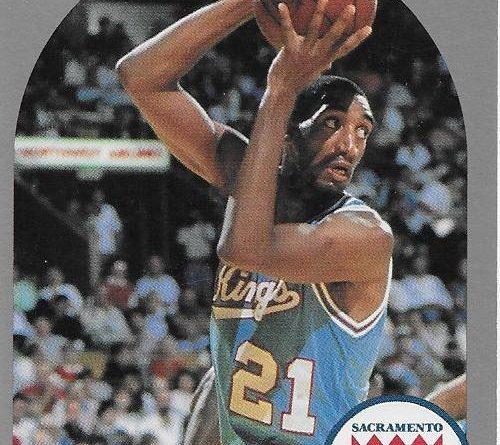 1989-90. Harold Pressley (Sacramento Kings). NBA Hoops. 📸: Emilio Rodriguez Bravo.