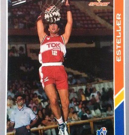 ACB 95. Roger Esteller (TDK Manresa). Editorial Mundicromo. 📸: Pablo Ruiz Arias.