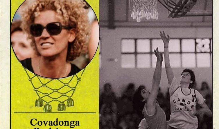 Covadonga Rodríguez (Real Canoe). Fotografía 📸: Cromo-Montaje del Grupo de Facebook Nuestros álbumes de cromos.
