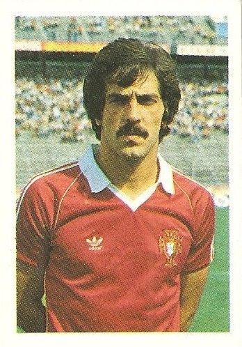 Eurocopa 1984. Gabriel (Portugal) Editorial Fans Colección.