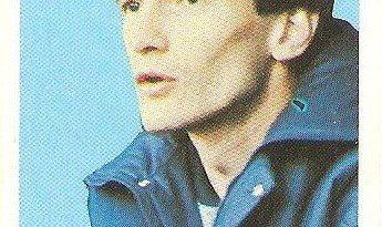 Eurocopa 1984. Hrstic (Yugoslavia) Editorial Fans Colección.