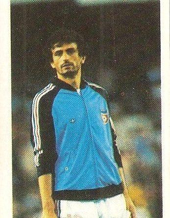 Eurocopa 1984. Vahid Halilhodžić (Yugoslavia) Editorial Fans Colección.