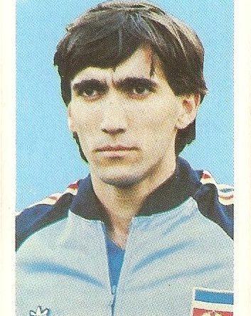 Eurocopa 1984. Zlatko Vujovic (Yugoslavia) Editorial Fans Colección.