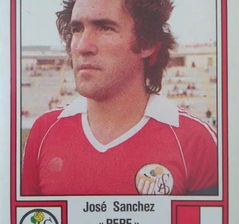 Fútbol 83. Pepe (U.D. Salamanca). Editorial Panini. 📸: Antonio Fernández.
