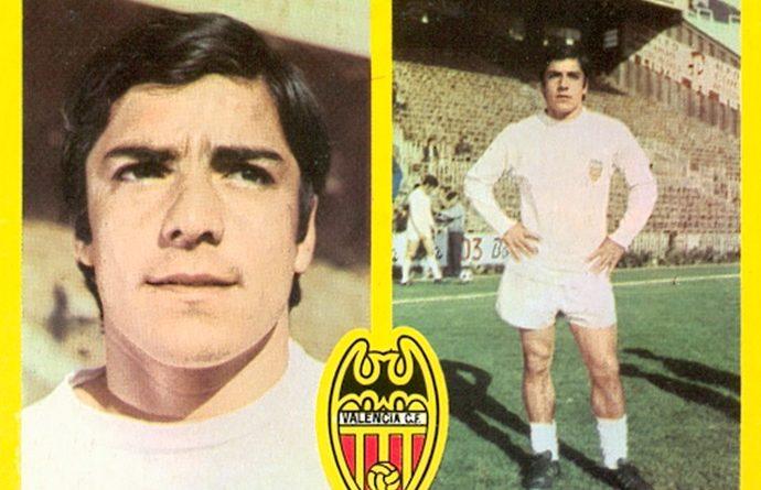 Liga 72-73. Valdez (Valencia C.F.). Ediciones Este. 📸: Toni Izaro.