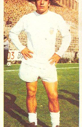 Liga 75-76. Valdez (Valencia C.F.). Ediciones Este. 📸: Toni Izaro.