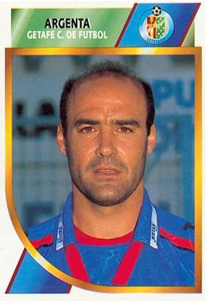 Liga 94-95. Argenta (Getafe C.F.). Ediciones Este. 📸: Toni Izaro.