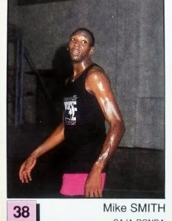 Basket 91 ACB. Mike Smith (Caja de Ronda). Ediciones Panini. 📸: Paco Jiménez.