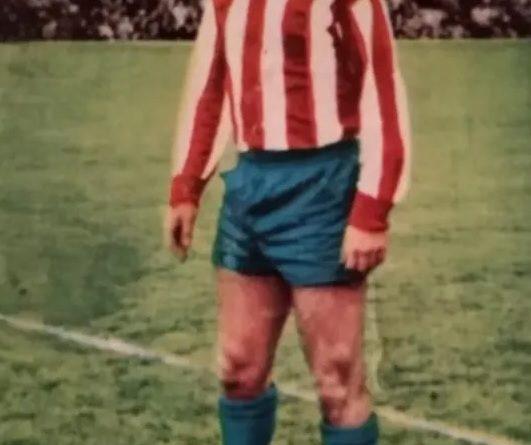 Liga 64-65. Adelardo (Atlético de Madrid). Editorial Fher-Disgra. 📸: José Mateos.