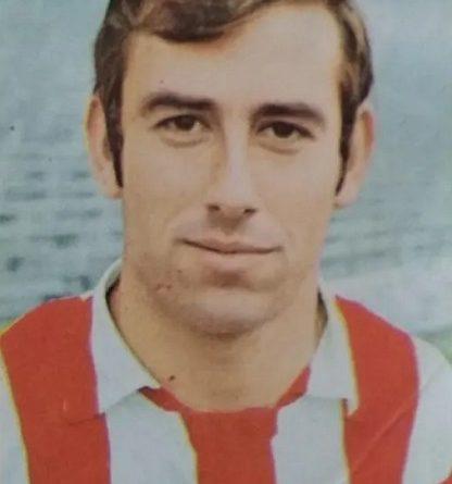 Liga 69-70. Adelardo (Atlético de Madrid). Editorial Fher. 📸: José Mateos.