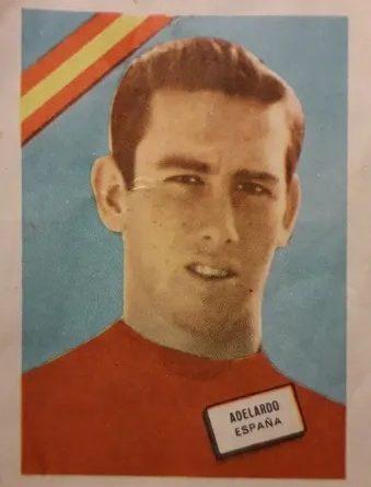 Mundial Chile 62 Adelardo (España). Editorial Fher. 📸: Juan Álvarez.