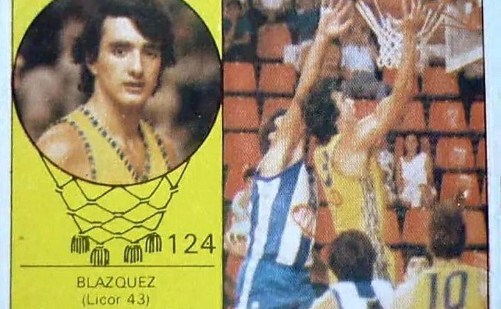 Campeonanto de Baloncesto. Liga 1985-86. Blázquez (Licor 43). Editorial Merchante. 📸: Luis López Bermúdez.