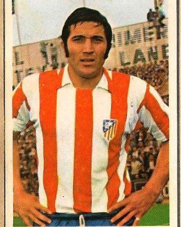 Liga 70-71. Ovejero (Atlético de Madrid). Editorial Ruiz Romero. 📸: Francisco García.