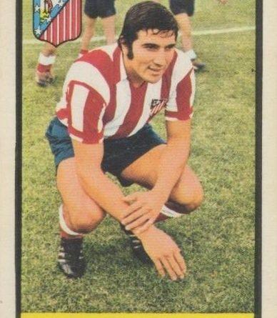 Liga 72-73. Ovejero (Atlético de Madrid). Editorial Fher. 📸: Juan Álvarez.