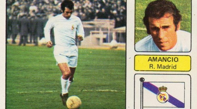 Liga 73-74. Amancio (Real Madrid). Editorial Fher. 📸: Juan Álvarez.