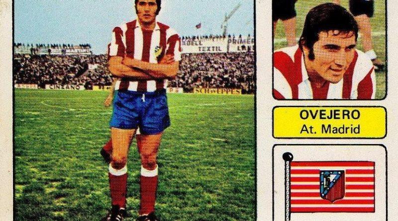 Liga 73-74. Ovejero (Atlético de Madrid). Editorial Fher. 📸: Juan Álvarez.