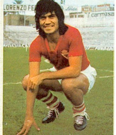 Liga 74-75. Verza (Real Murcia). Ediciones Este. 📸: Toni Izaro.