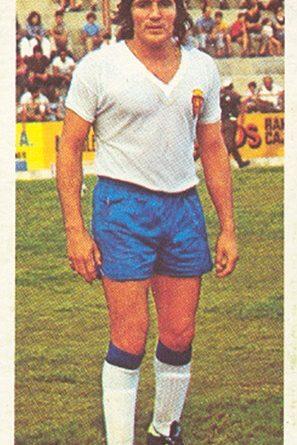 Liga 75-76. Ovejero (Real Zaragoza). Ediciones Este. 📸: Toni Izaro.