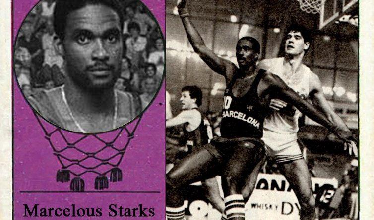 Marcelous Starks (F.C. Barcelona). 📸: Cromo-Montaje del Grupo de Facebook Nuestros álbumes de cromos.