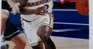 NBA 1994-1995. Keith Jennings (Golden State Warrios). Upper Deck.