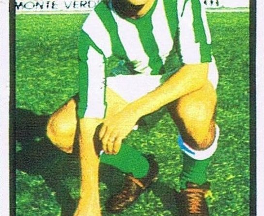 Campeonato de Liga 1972-73. Biosca (Real Betis). Editorial Fher. 📸: Juan Álvarez.