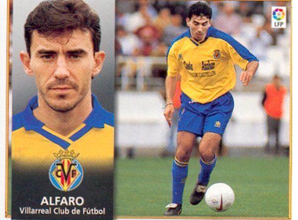 Liga 98-99. Alfaro (Villarreal C.F.). Ediciones Este. 📸: Toni Izaro.