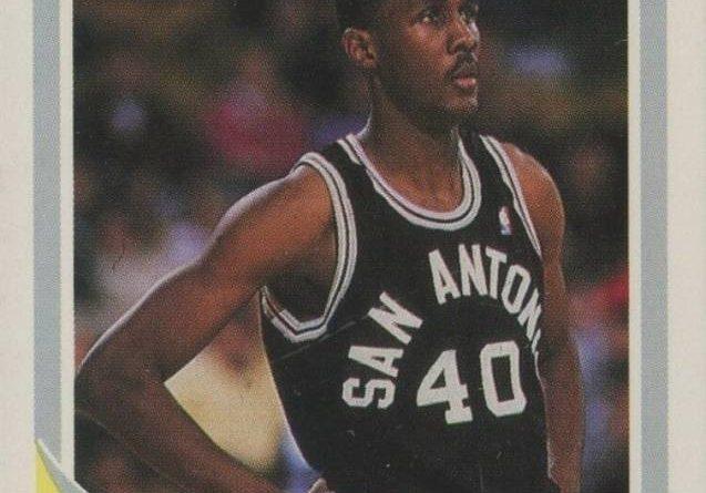 NBA 1989. Willie Anderson (San Antonio Spurs). Fleer. 📸: Antonio Bejarano Pérez.