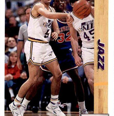 NBA 1991-1992. Andy Toolson (Utah Jazz). Upper Deck. 📸: Lorenzo Mínguez.