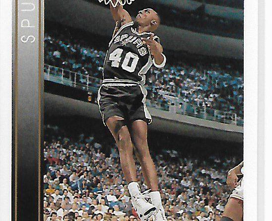 NBA 1993-94. Willie Anderson (San Antonio Spurs). Upper Deck. 📸: Benito González.