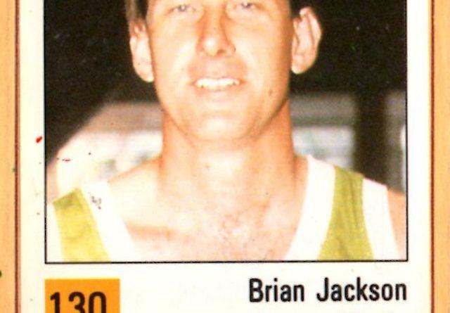 Basket 90 ACB. Brian Jackson (Huesca Magia). Ediciones Panini. 📸: Grupo de Facebook Nuestros álbumes de cromos