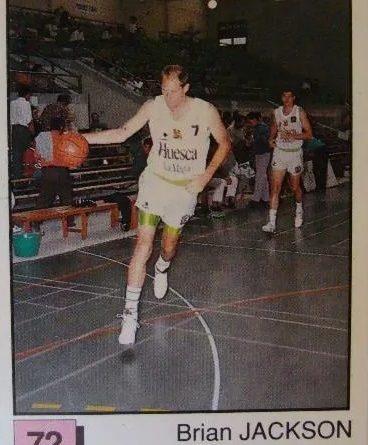 Basket 91 ACB. Brian Jackson (Huesca La Magía). Ediciones Panini. 📸: Paco Jiménez.