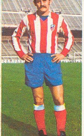 Liga 75-76. Laguna (Atlético de Madrid). Ediciones Este. 📸: Toni Izaro.