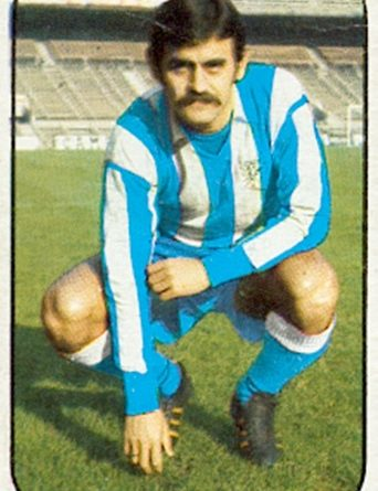Liga 76-77. Laguna (C.D. Málaga). Fichaje Nº 18. Ediciones Este. 📸: Toni Izaro.