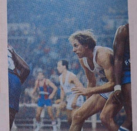 Liga 84-85. Brian Jackson (Real Madrid) Editorial Eurocrom. 📸: Fernando López.