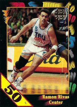 1992. Ramón Rivas (Taugrés Baskonia). Wild Card Collegiate. 📸: Juan Ramón Aguado Monje.