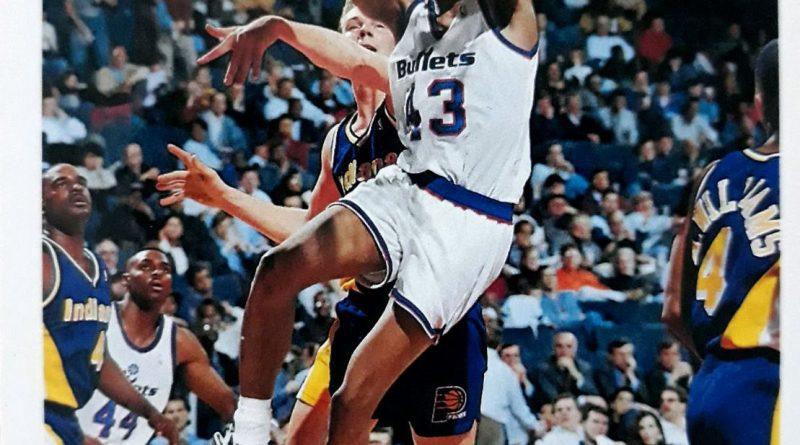 NBA 1992-1993. Pervis Ellison (Washington Bullets). Upper Deck.
